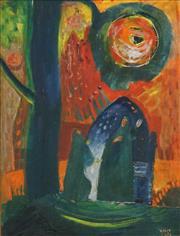 Sale 8492 - Lot 553 - Michael Kmit (1910 - 1981) - Tragedy 42.5 x 32.5cm