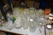 Sale 8509 - Lot 2238 - Collection of Glassware incl Decanter