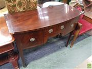 Sale 8601 - Lot 1433 - Timber Bow Front Dresser