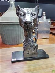 Sale 8611 - Lot 1042 - Metal Lion Bust
