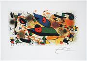 Sale 8985A - Lot 5032 - Joan Miro (1893 - 1983) - Sculpture II 76 x 51 cm (frame: 87 x 104 x 3 cm)