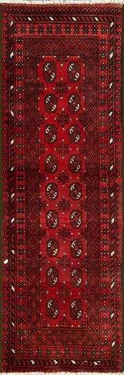 Sale 8353C - Lot 85 - Afghan Turkman 227cm x 73cm