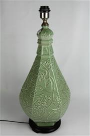 Sale 8384 - Lot 67 - Celadon Style Lamp
