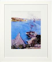 Sale 8411A - Lot 5069 - Arthur Streeton (1867 - 1943) - From McMahons Point 35 x 27.5cm (frame size: 58 x 48cm)