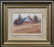 Sale 8433 - Lot 2004 - John Vander (1947 - ) - Top of the Hill 15 x 20cm