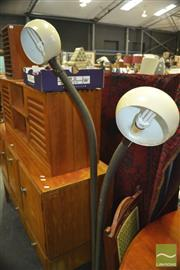 Sale 8431 - Lot 1096 - Snake Neck Standard Lamp