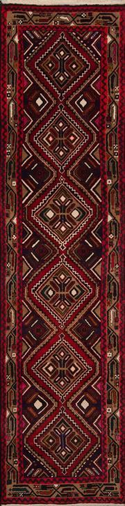 Sale 8447C - Lot 93 - Persian Hamadan Runner 310cm x 75cm