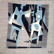 Sale 8492 - Lot 519 - Pablo Picasso (1881 - 1973) - Arlequin y mujer con collar, 1917 200 x 200cm