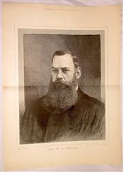 Sale 8460C - Lot 60 - London Illustrated News Supplement October 27, 1888. Double page Dr W.G. Grace. Very good.