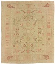 Sale 8725C - Lot 4 - A Vintage Turkish Oushak Carpet, Hand-knotted Wool, 295x256cm, RRP $7,000