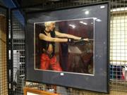 Sale 8767 - Lot 2099 - Mistress Eve at Salon Kitties, framed photograph, total frame size 62cm x 72cm