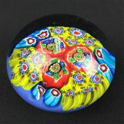 Sale 8402D - Lot 57 - Murano Millefiori Paperweight (Height - 6cm)