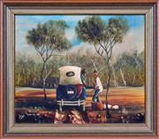 Sale 8408 - Lot 542 - Max Mannix (1939 - ) - Going My Way, 1981 39.5 x 49.5cm