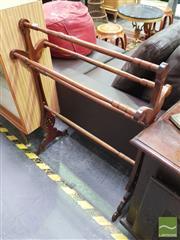 Sale 8424 - Lot 1056 - Timber Towel Rail