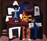 Sale 8459 - Lot 528 - Pablo Picasso (1881 - 1973) - Musicos con masacaras, 1921 200 x 170cm