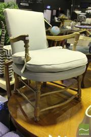 Sale 8499 - Lot 1055 - Vintage Elm Armchair