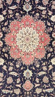 Sale 8626A - Lot 178 - A Cadrys Persian Design Handspun Wool Carpet, Size; 380x270cm, RRP; $9000