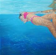 Sale 8633 - Lot 542 - Rhonda Gray - Untitled 182.5 x 182.5cm