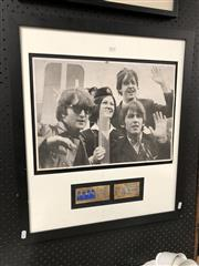 Sale 8789 - Lot 2171 - The Beatles Memorabilia, photograph and tickets from concert, Sunday August 15, 1965