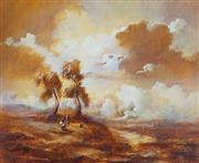Sale 8870A - Lot 502 - Carl Stringfellow (1954 - ) - Golden Summer 45 x 54.5cm