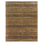 Sale 8915C - Lot 2 - India Abrash Stripes Carpet, 310x245cm, Handspun Bamboo