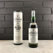 Sale 9079W - Lot 855 - Laphroaig 10YO Islay Single Malt Scotch Whisky - old bottling, 40% ABV, 700ml in canister