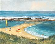 Sale 8443A - Lot 5095 - Bruce Lawrence (1932 - 2010) - Headland 29.5 x 37.5cm