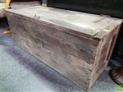 Sale 8562 - Lot 1083 - Rustic Timber Crate with hinged lid