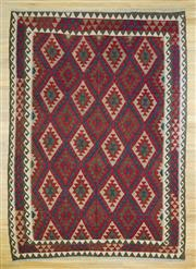 Sale 8589C - Lot 100 - Persian Killem , 208x292
