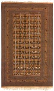 Sale 8626A - Lot 179 - A Cadrys Afghan Fine Turkmen Silk & Handspun Wool Carpet, Size; 312x223cm, RRP; $6500