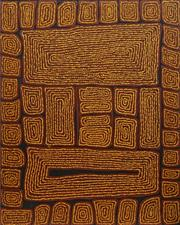 Sale 8696 - Lot 548 - Thomas Tjapaltjarri (c1964 - ) - Tingari Cycle 150 x 120cm (stretched and ready to hang)