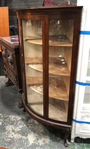 Sale 8822 - Lot 1860 - Glass Front Corner Display Cabinet