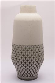 Sale 9035 - Lot 42 - Stoneware Retro Style Vase H: 43cm