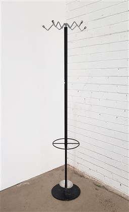 Sale 9151 - Lot 1032 - Modernist metal coat stand by AERO (h:183cm)