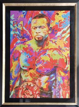 Sale 9139 - Lot 2080 - Roy Jones Jr - Artist Unknown, Psychedelic Pop Art (H:113 x W:85cm)