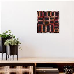 Sale 9171A - Lot 5099 - WALALA TJAPALTJARRI (c1960s - ) Tingari acrylic on linen 30 x 31 cm (stretched and ready to hang) signed verso, Artery label verso C...