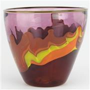 Sale 8356 - Lot 14 - Chris Pantano Outback Art Glass Vase