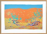 Sale 8382 - Lot 505 - Clifton Pugh (1924 - 1990) - Red Sand Dune 73.5 x 111cm