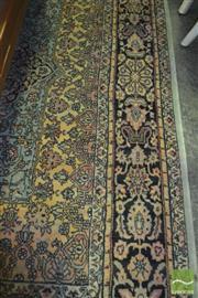 Sale 8390 - Lot 1485 - Green Tone Floor Rug