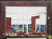 Sale 8413T - Lot 2009 - Sue Paton (active 1980s - 1990s) - View Through My Studio, 1993 95 x 129cm