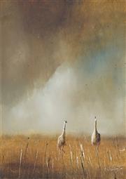 Sale 8722A - Lot 5011 - Patrick Shirvington (1952 - ) - Ever Wandering, 1978 35 x 25cm