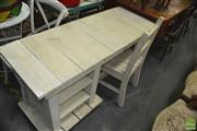 Sale 8431 - Lot 1057 - Rustic Timber Desk with Chair