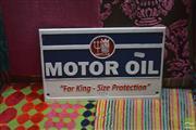 Sale 8440 - Lot 1098 - Iron Neptune Oil Advert