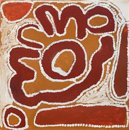 Sale 9128A - Lot 5082 - Cory Surprise (1929 - 2011) - Boolga Jila, 2007 60 x 60 cm (stretched and ready to hang)