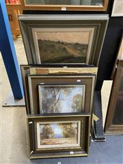 Sale 8865 - Lot 2041 - Pauline Washington (5 works) - Country Scenes framed, various sizes