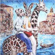 Sale 9072A - Lot 5060 - Gillie and Marc - The lived the high life... 51 x 51 cm (Frame: 83 x 83 cm)