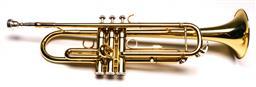 Sale 9136 - Lot 47 - Huxley trumpet in case