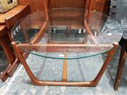 Sale 8782 - Lot 1094 - Quality G Plan Coffee Table with Glass Top