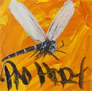Sale 8732 - Lot 559 - Kevin Charles (Pro) Hart (1928 - 2006) - Dragonfly 9.5 x 9cm
