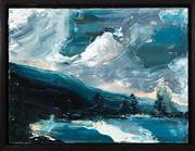 Sale 9023H - Lot 55 - PAUL RYAN, Cold Mountain study, Oil on canvas, 61cm x 45cm. Signed and dated lower left. Provenance purchased from the artist in...